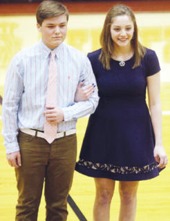 Ethan Fitzgerald and Kelsi Carter