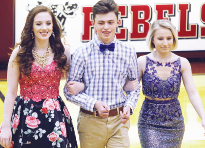 Emma Ashcraft, Jacob Lilly and Rachel Miller