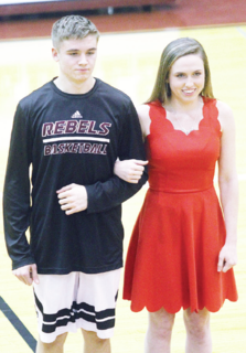 Grant Cobb and Baileigh Young
