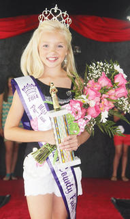 2014 Miss Pre-Teen Owen County Fair Macie Chappell