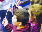 Veterans  honored by  district students
