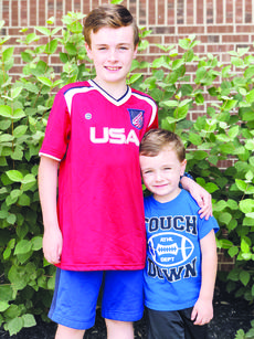 "<div class=""source"">Molly Haines/N-H Editor </div><div class=""image-desc"">Jeremiah and Josiah Jury pose for a photo outside the Owen County Public Library last week. On June 30, Jeremiah rescued his little brother from a truck fire at the Owen County Transfer Station. </div><div class=""buy-pic""><a href=""/photo_select/18028"">Buy this photo</a></div>"