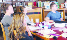 """<div class=""""source"""">Photo by Audrey Lewis   N-H Reporter </div><div class=""""image-desc"""">New hires to Owen County Schools participate in a professional development lesson on growth mindset inside the Maurice Bowling Middle School library Aug. 2. MBMS has many new staff members for the upcoming year.</div><div class=""""buy-pic""""><a href=""""/photo_select/18117"""">Buy this photo</a></div>"""