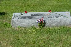 "<div class=""source"">Ernie Stamper</div><div class=""image-desc"">Grave site of John William Green and his wife Mary Catherine, New Liberty IOOF Cemetery</div><div class=""buy-pic""></div>"