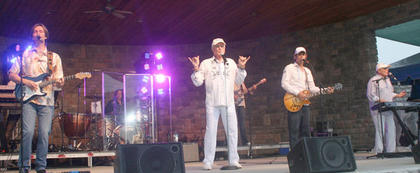 Legendary rock band The Beach Boys welcomed summer to Owen County with a concert at Elk Creek Winery on Memorial Day weekend.