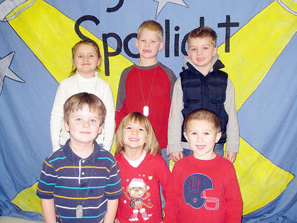 Kindergarten Star Student Award Winners