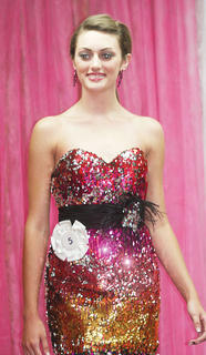 Kaitlynn Goodrich participated in the Miss Teen pageant.