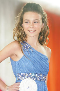 Morgan Hammond participated in the Miss Teen pageant.