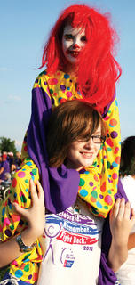 The theme of this year's Relay was 'Under the Big Top'