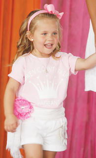 Ryli Lenear participated in the Little Princess pageant.