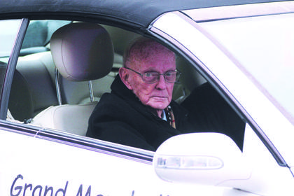 Bobby Walker, a longtime Owenton City Council member, served as the parade's grand marshal.