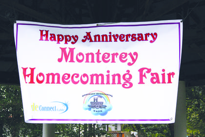 Saturday's fair marked the 40th years since the first Monterey Fair in 1976.