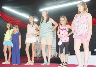 The Miss Pre-Teen Owen County contestants include Alexandria Perry, Adi Bowling, Meg Gamm, Paige Heuser, Ellie Anderson and Mercedes Bourne.