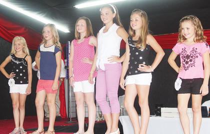 The Miss Pre-Teen Owen County contestants include Macie Chappell, Madelin Brandt, Emily Riddle, Kylee Robinson, Haleigh Yancey and Brie Dunavent.