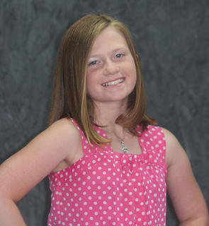 Emily Riddle, Miss Pre-Teen contestant