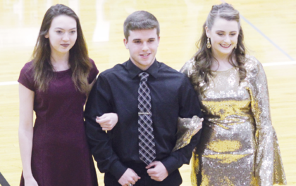 Haileigh Noll, Jared Prather and Kaitlyn Parker