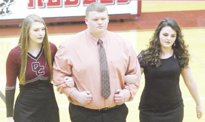 Abbi Bitler, Trace Ogden and Suvannah Hubbuch (All photos by Molly Haines/N-H Editor)