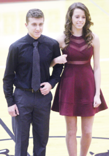 Colton Stedam and Alli Bourne